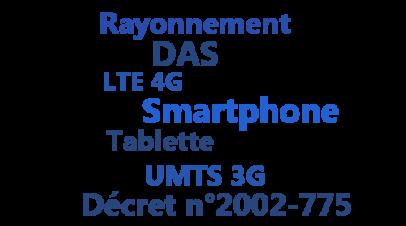Le DAS des smartphones et des tablettes 3G et 4G